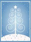 雪花元素0032,雪花元素,自然风景,花饰 五角星 白色