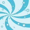 雪花元素0035,雪花元素,自然风景,旋涡状 花样 小雪片