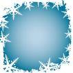 雪花元素0042,雪花元素,自然风景,