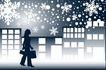 雪花元素0048,雪花元素,自然风景,