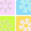 雪花元素0049,雪花元素,自然风景,