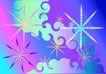 雪花元素0072,雪花元素,自然风景,