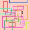 几何背景0115,几何背景,底纹背景,长方形 各种颜色 拼凑