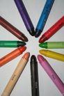 彩色铅笔0108,彩色铅笔,底纹背景,