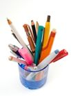 彩色铅笔0119,彩色铅笔,底纹背景,笔筒 各种笔 书写工具