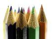 彩色铅笔0129,彩色铅笔,底纹背景,