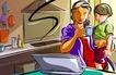 商业艺术插图0095,商业艺术插图,商业,
