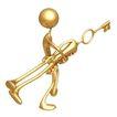 喻意金人0158,喻意金人,商业,金钥匙
