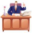 网络商务0054,网络商务,商业,办公桌 一枝花 上班时间
