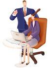 网络商务0055,网络商务,商业,女秘书 交代工作
