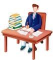 网络商务0059,网络商务,商业,一叠书 写字