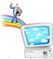 网络商务0080,网络商务,商业,彩虹