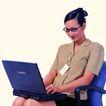 办公女性0077,办公女性,人物,上网 眼镜