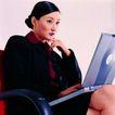 办公女性0079,办公女性,人物,黑发 西装
