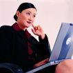 办公女性0080,办公女性,人物,职业女性 笔记本