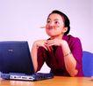 办公女性0094,办公女性,人物,表情 文具 上班时间
