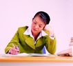 办公女性0096,办公女性,人物,职业装 公司职员 材料