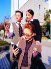 办公女性室外篇0019,办公女性室外篇,人物,办公女性 室外工作
