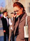 办公女性室外篇0028,办公女性室外篇,人物,在街上打电话