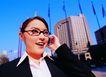 办公女性室外篇0033,办公女性室外篇,人物,讲电话