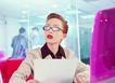 办公女性室外篇0041,办公女性室外篇,人物,眼镜女郎