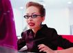 办公女性室外篇0055,办公女性室外篇,人物,鲜艳唇色