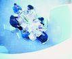合作伙伴0096,合作伙伴,人物,讨论 桌子