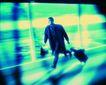 工作狂人0067,工作狂人,人物,去出差 拖着行李箱