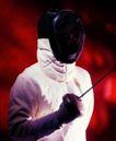 运动器材0160,运动器材,运动,击剑选手