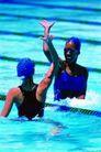 最后冲刺0103,最后冲刺,运动,女子游泳 选手 对手