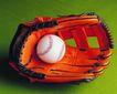 各种球类0074,各种球类,运动,手套和球