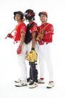 棒球运动特写