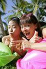 欢乐少女嘻戏0006,欢乐少女嘻戏,运动,雀跃表情