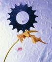 机械齿轮0283,机械齿轮,工业,