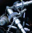 机械齿轮0291,机械齿轮,工业,