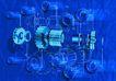 工业合成0005,工业合成,工业,纯蓝空间