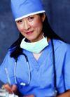 医学人员0011,医学人员,医疗,女医师 口罩 听诊器