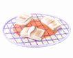 美食插图0094,美食插图,饮食,烘烤 铁架