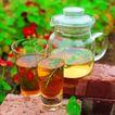 花草茶饮0051,花草茶饮,饮食,清淡的茶汤