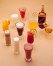 饮食特写0038,饮食特写,饮食,各种果汁
