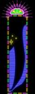 刀牌0085,刀牌,霓虹灯设计,紫色线条