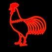 动物0024,动物,霓虹灯设计,