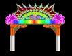 拱门0002,拱门,霓虹灯设计,门楼