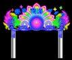 拱门0004,拱门,霓虹灯设计,洗浴中心