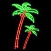 植物0013,植物,霓虹灯设计,热带植物 椰子树