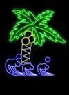 植物0033,植物,霓虹灯设计,