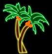 植物0036,植物,霓虹灯设计,