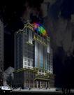楼体0014,楼体,霓虹灯设计,