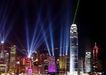 楼体0050,楼体,霓虹灯设计,城市灯光 探照灯