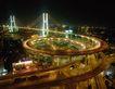 楼体0054,楼体,霓虹灯设计,螺旋公路桥